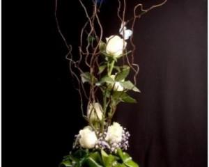 006 - Arranjo com rosas