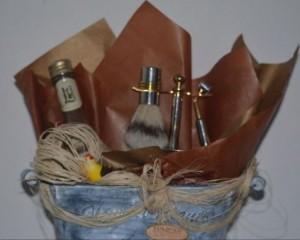 02 - Cesta com bebida e kit barba